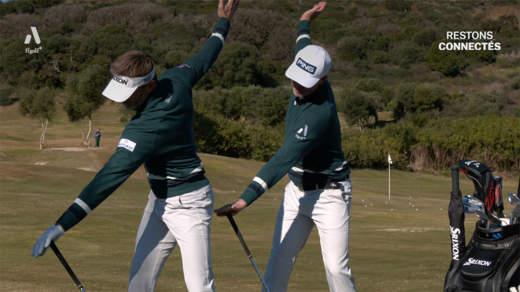 Duo de tips : coordonnez votre swing