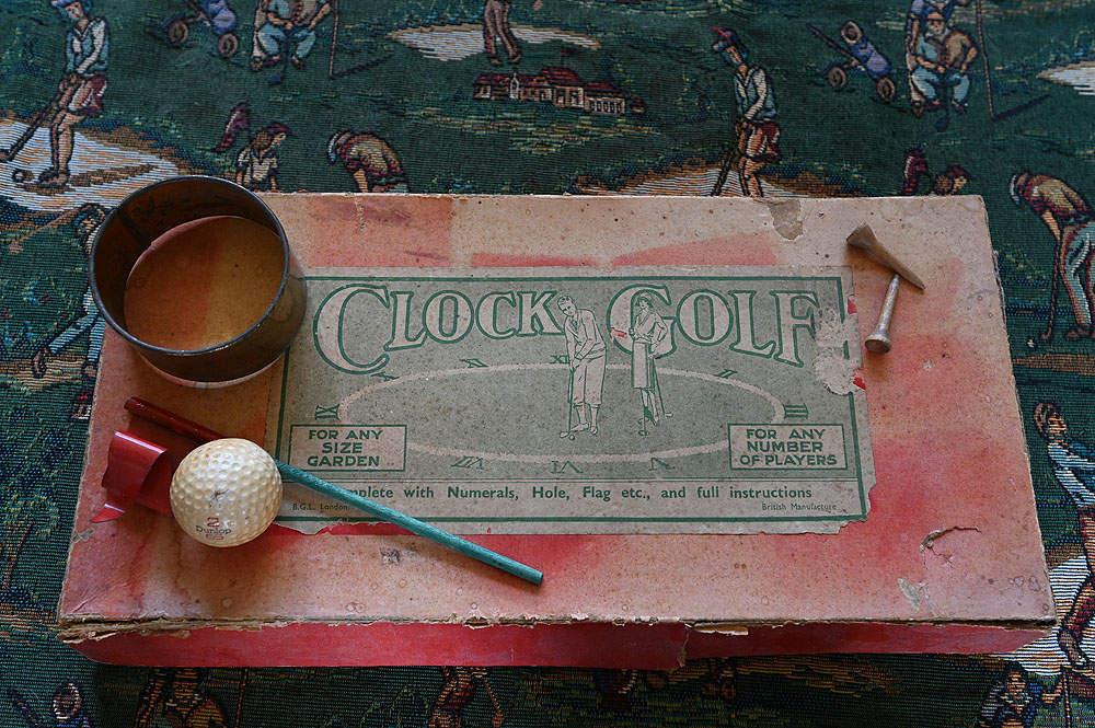 Clock Golf