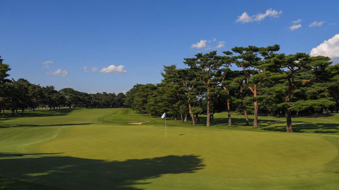 Kasumigaseki 8th Green