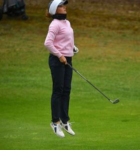 Claire Pitout à la Golfers'