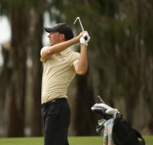 Clément Charmasson au 2021 American Golf Championship