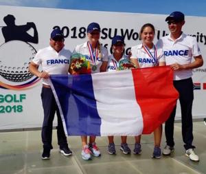 L'équipe de France universitaire féminine