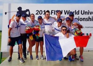 Les équipes de France universitaires