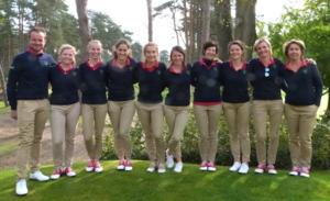 L'équipe du Sart à la Golfers' Club