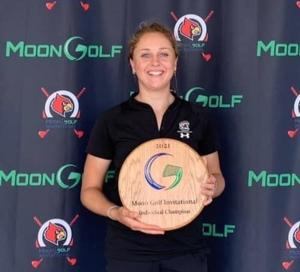 Pauline Roussin-Bouchard au Moon Golf Invitational