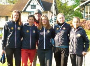L'équipe de Strasbourg à la Golfers'