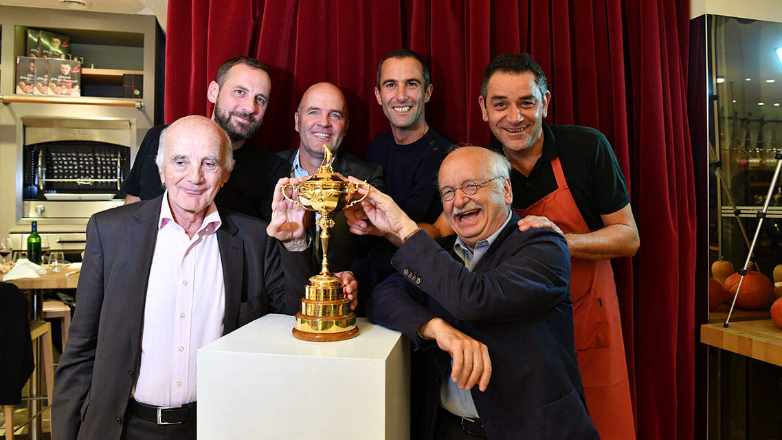 Les ambassadeurs français de la Ryder Cup 2018