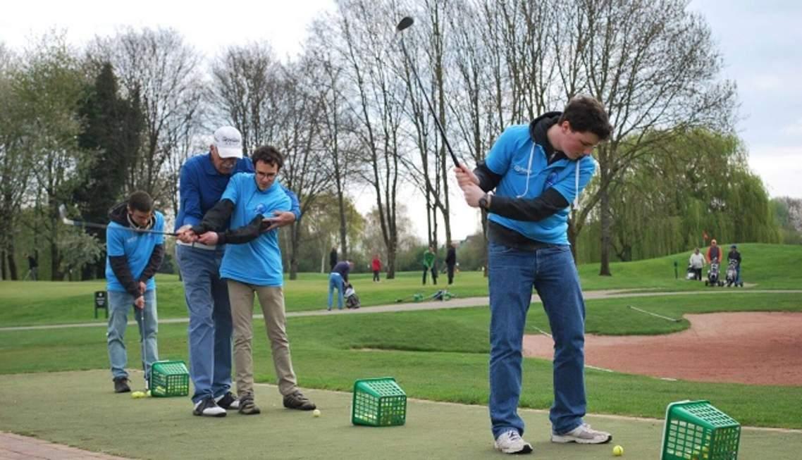 Golf ensemble pour l'autisme