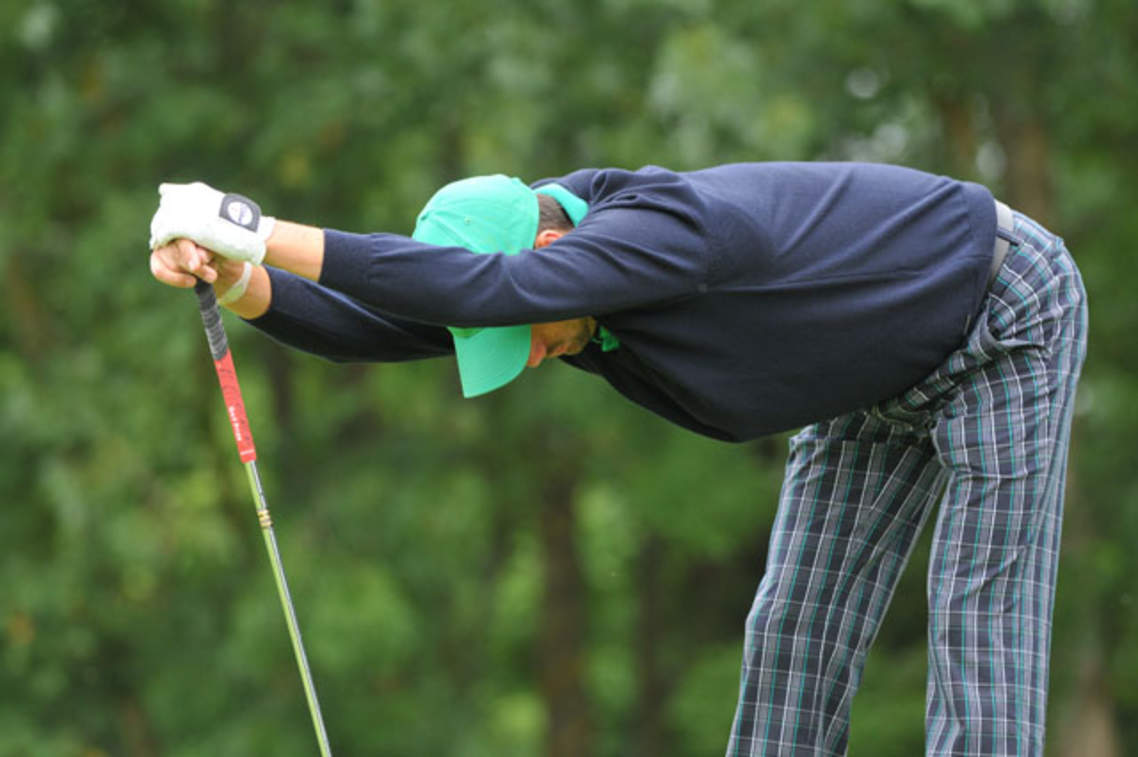 étirements golf