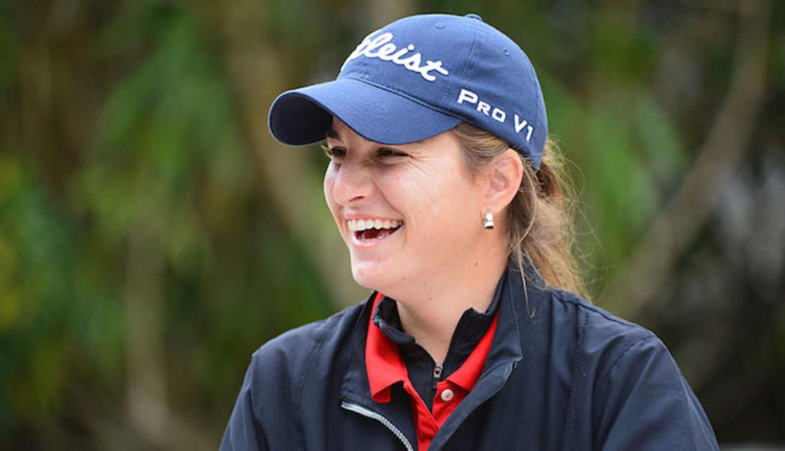 Luna Sobron au Terre Blanche Ladies Open