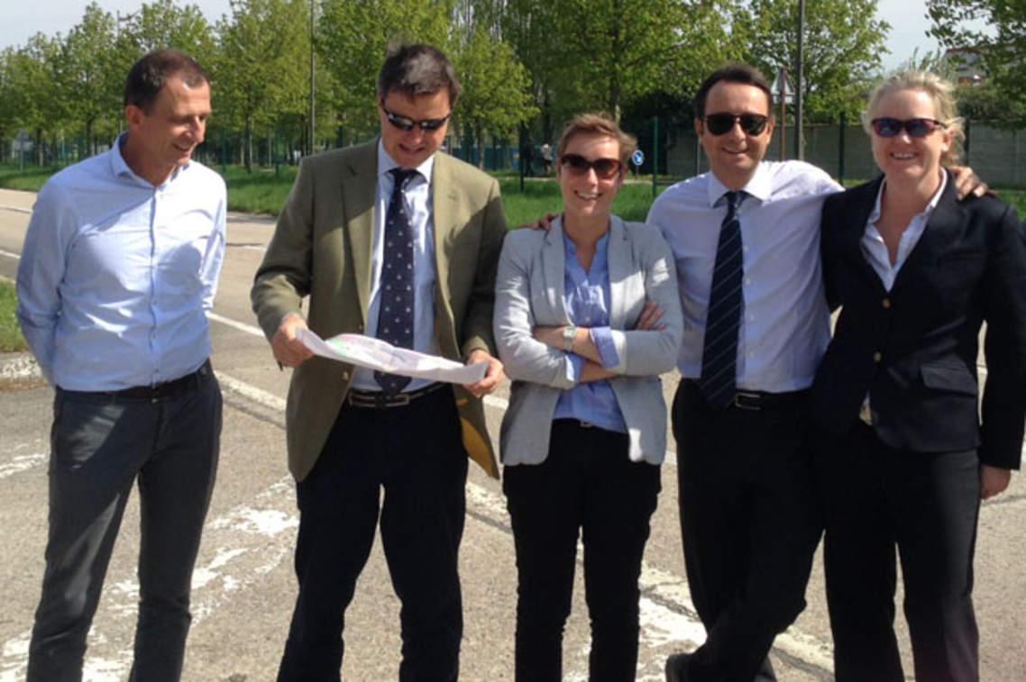 Journ es techniques pour ryder cup europe dans les for Visite gratuite dans les yvelines