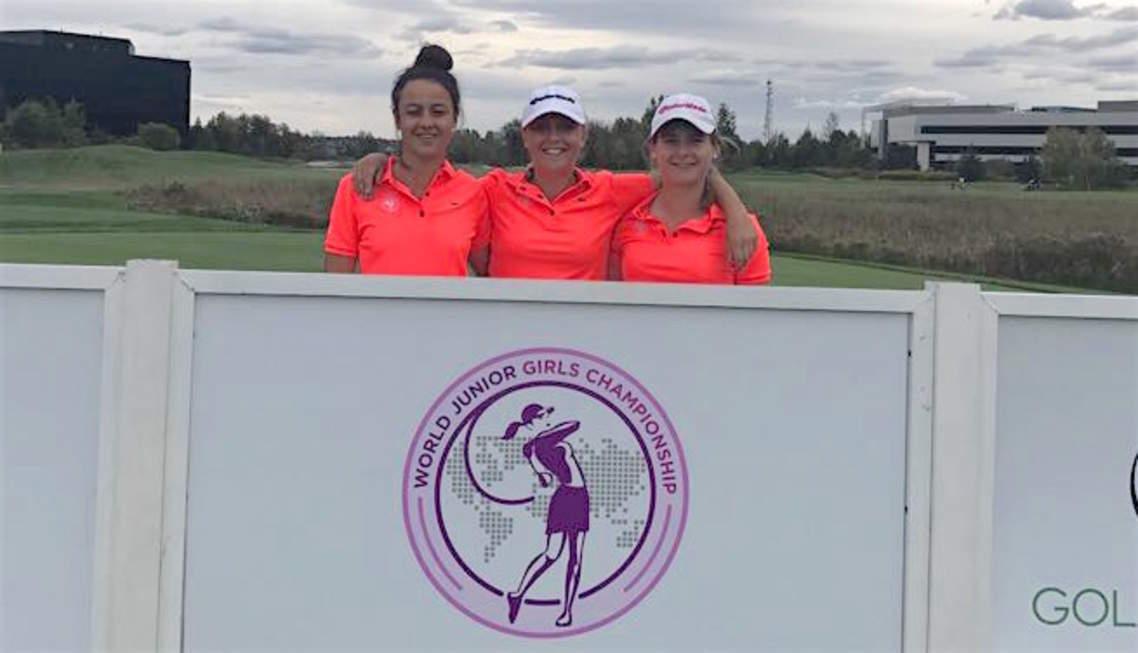 Equipe de France Girls à Ottawa