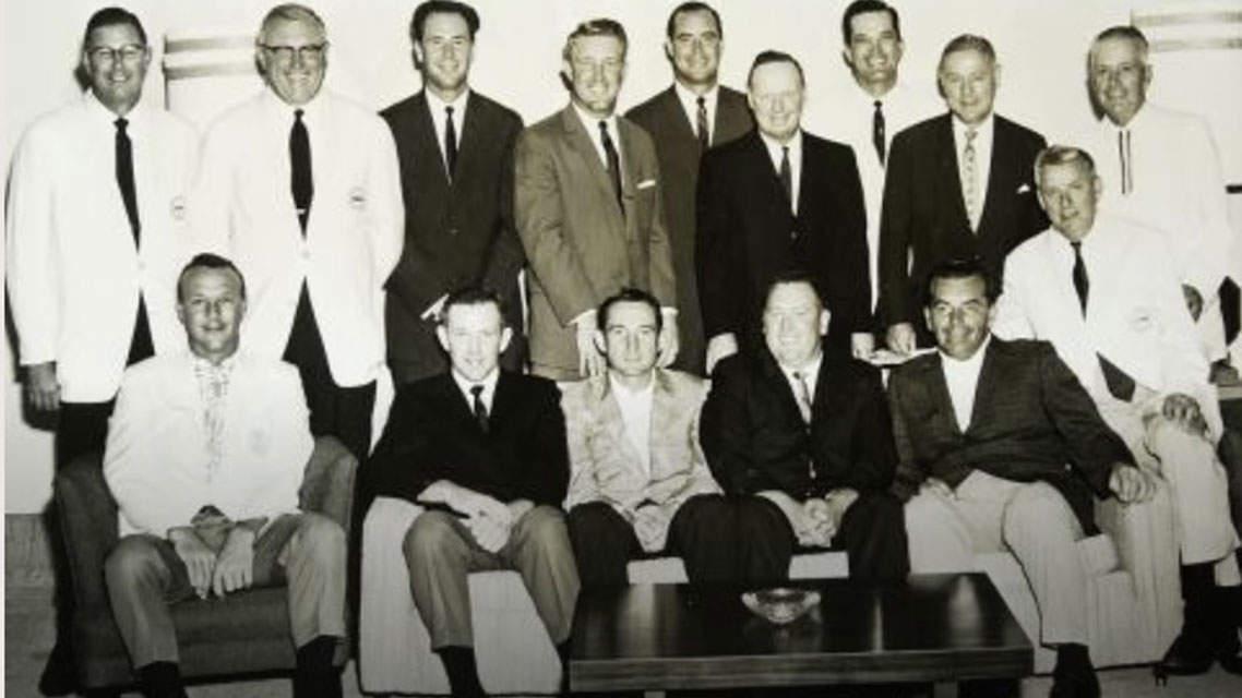 L'équipe américaine en 1963