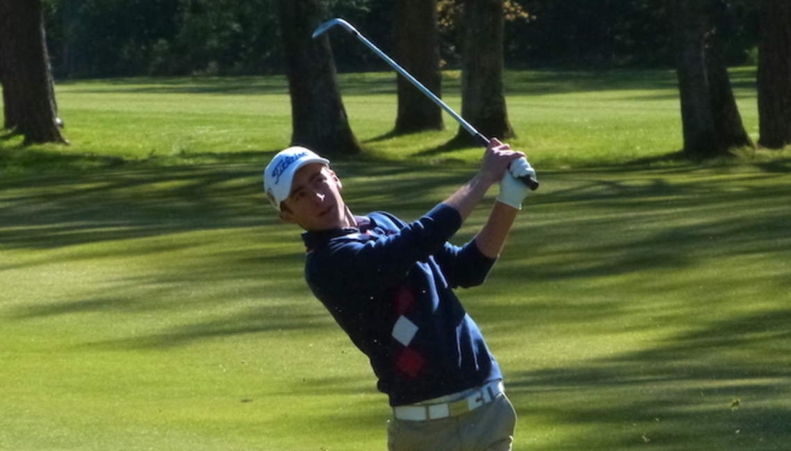 Adrien Pendaries au Junior Players Championship