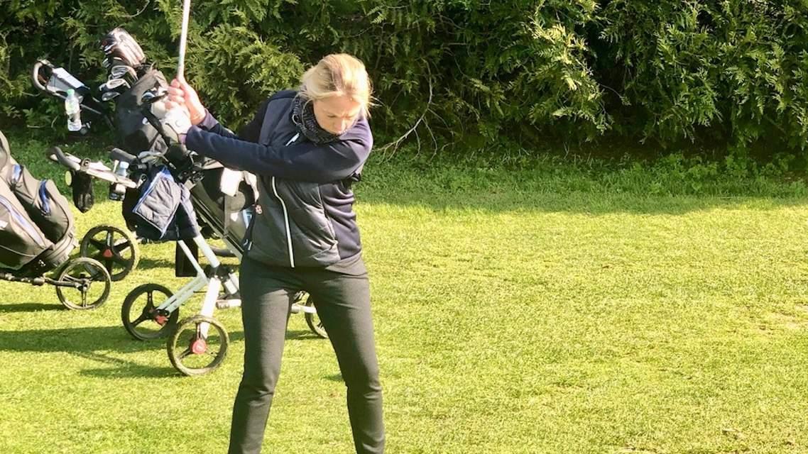 Cathy Warnet  Bourhoven recommande le golf à ses patients