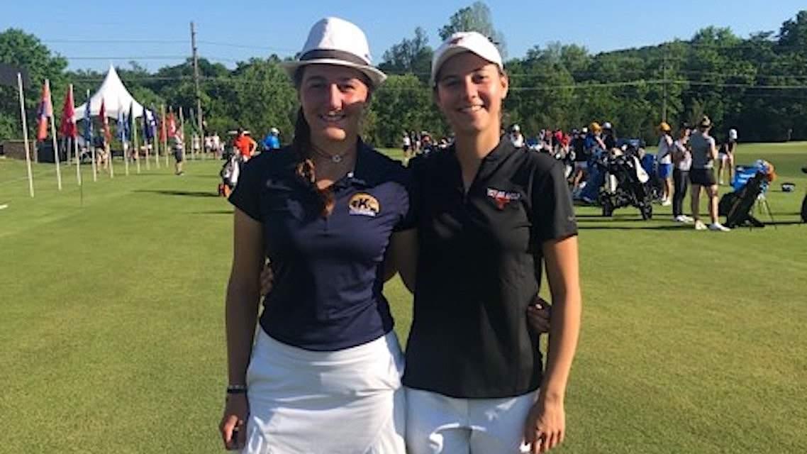 Chloé Salort et Agathe Laisné au NCAA D1 Womens Championship