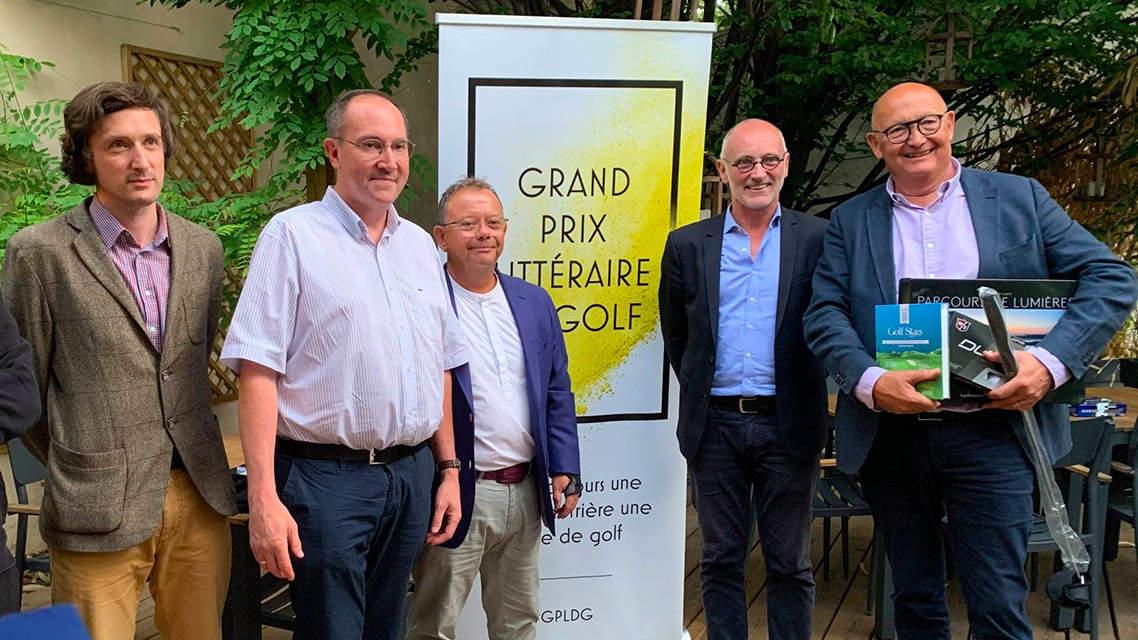Grand Prix Littéraire du Golf : les lauréats