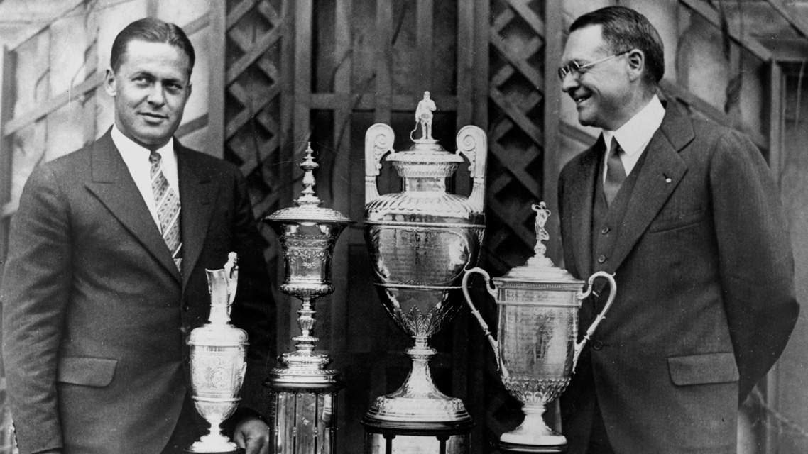 Exposition virtuelle 18 - les légendes du golf : éternel Bobby JONES