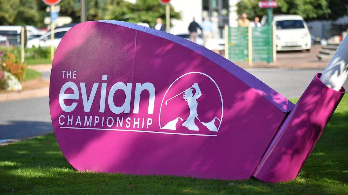 Image result for 2019 Evian Championship