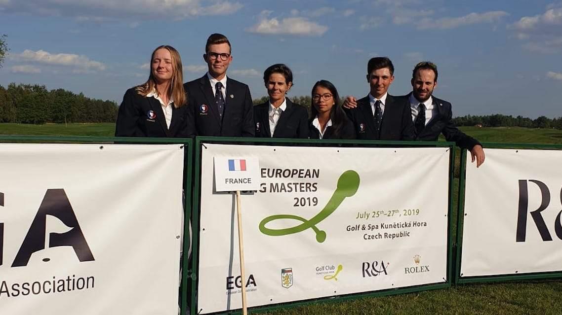 L'équipe de France à l'European Young Masters