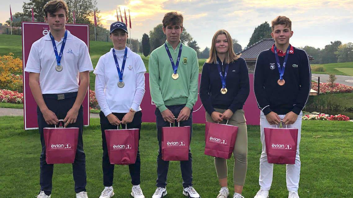 Les lauréats de l'Evian U18