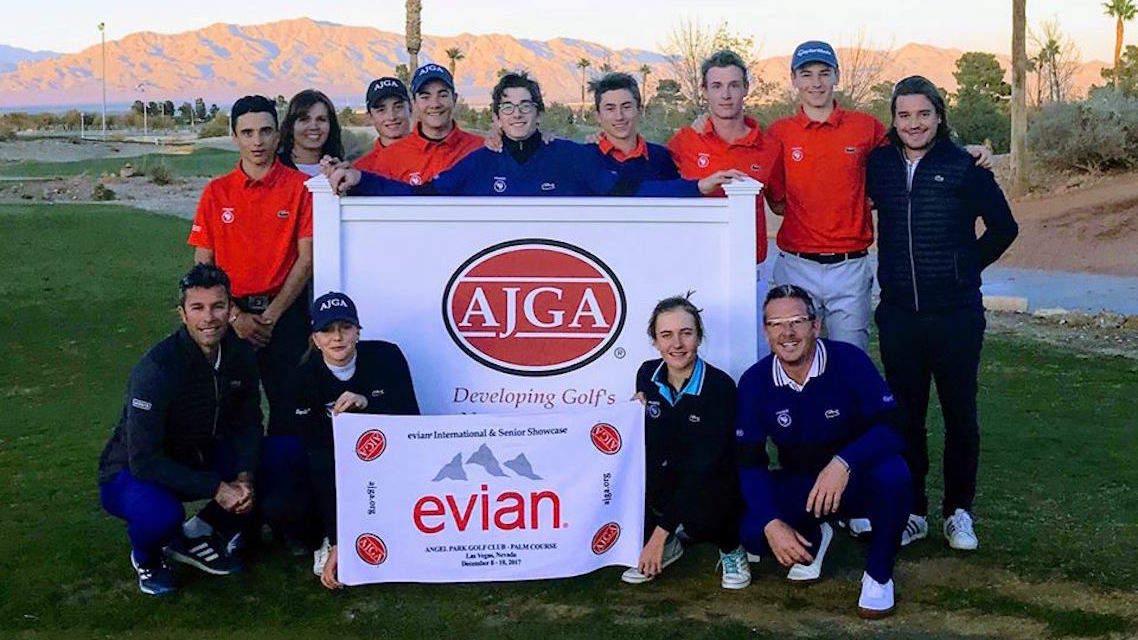Les jeunes Français à l'Evian International