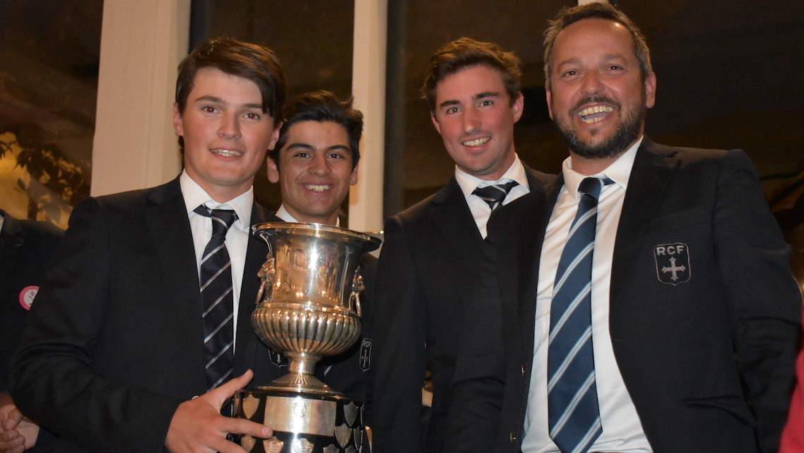 L'équipe du RCF La Boulie vainqueur de la coupe d'Europe des clubs