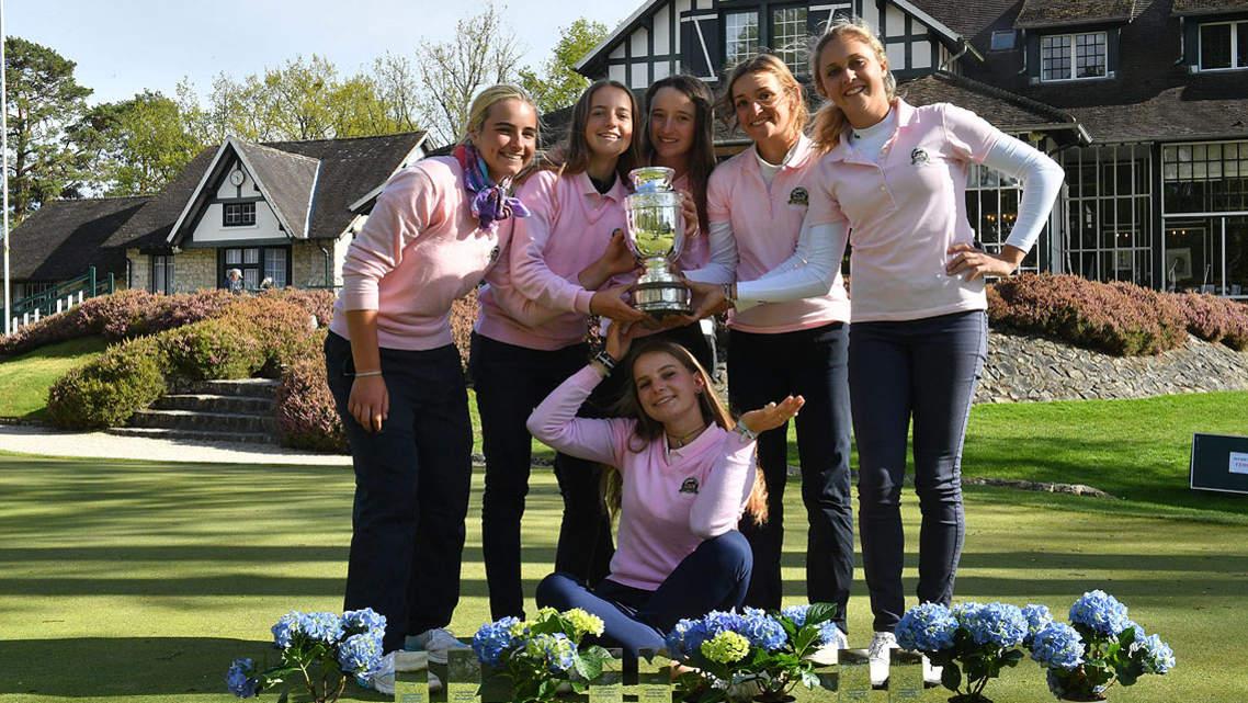 L'équipe de Valescure championne de France