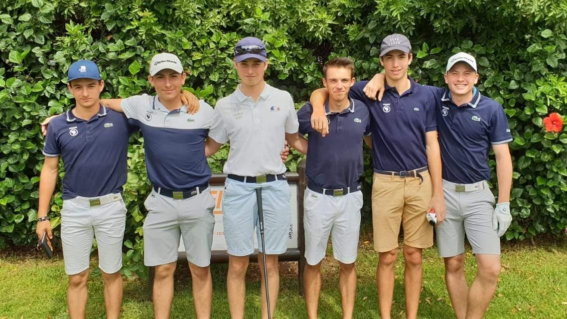 Les Boys français au South African Amateur Championship
