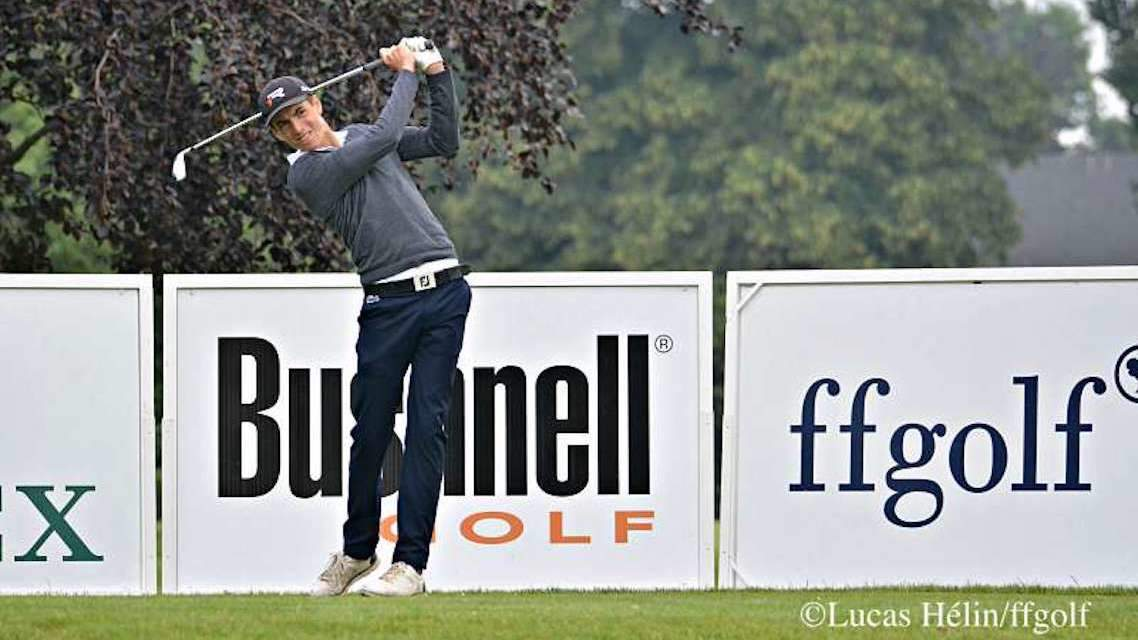 Charles Larcelet au South African Stroke Play Championship