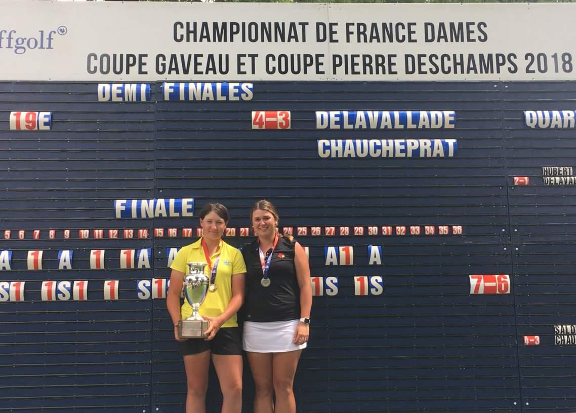 Mathilde Delavallade championne de France 2018