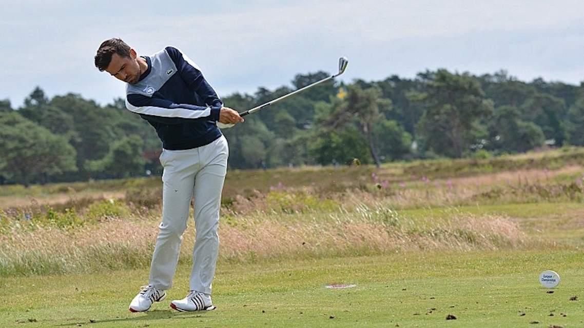 David Ravetto au championnat d'Argentine de stroke play
