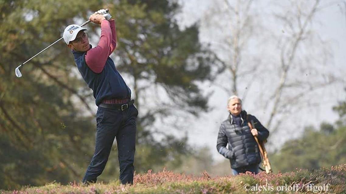 Théo Brizard au Scottish Men's Open Championship