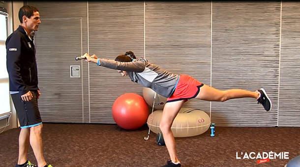 La séance fitness avec Justine Dreher : épisode 4