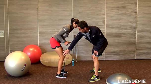 La séance fitness avec Justine Dreher (épisode 2)