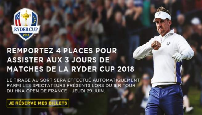 Offre Ryder Cup 2018