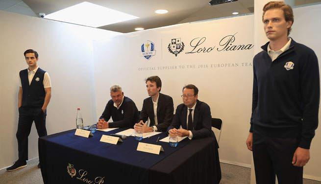 Loro Piana dévoile les premières tenues officielles de l'équipe européenne de Ryder Cup
