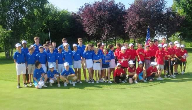 Les deux équipes Etats-Unis et Europe