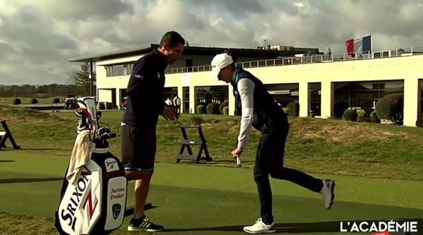 Thomas Brégeon et Justine Dreher au Golf National