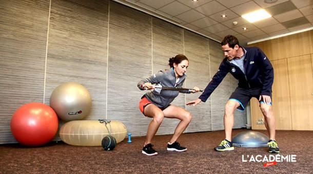 La séance fitness avec Justine Dreher : épisode 5