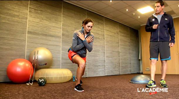 La séance fitness avec Justine Dreher : épisode 6