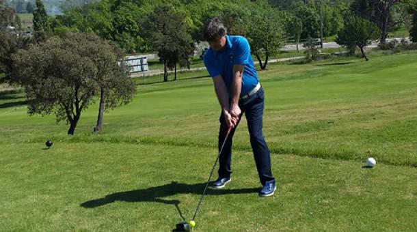 Emmanuel Guillet au golf de Nice
