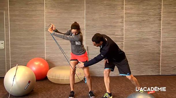 La séance fitness avec Justine Dreher : épisode 3