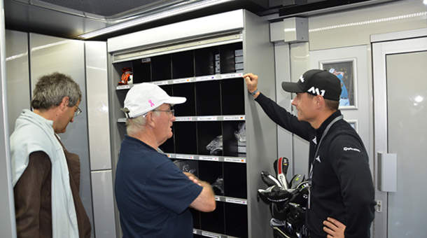 Visite du camion TaylorMade
