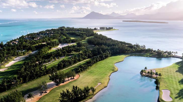 Golf du Paradis Beachcomber.