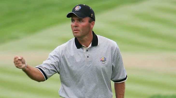 Thomas Levet lors de la Ryder Cup 2004.