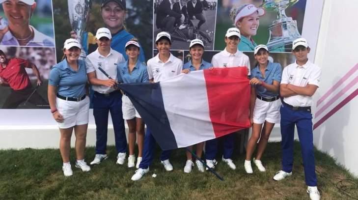 Les équipes de France jeunes à l'Evian Championship Juniors Cup
