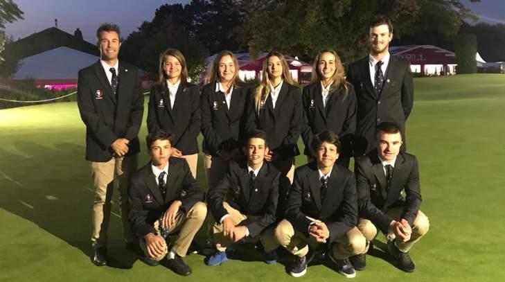 Les équipes de France U14 à l'Evian Championship Juniors Cup