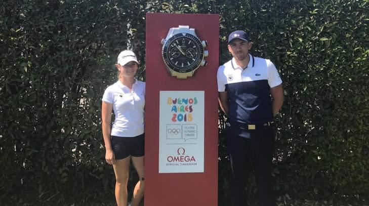 Mathilde Claisse et Thomas Boulanger aux Jeux olympiques de la Jeunesse