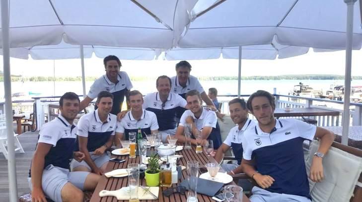 L'équipe de France messieurs au championnat d'Europe par équipes